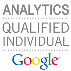 Google Analytics Qualified Individual Certification - Passed 82% August 2015