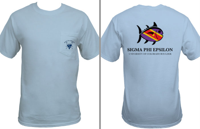 Fall Rush shirt, 2012