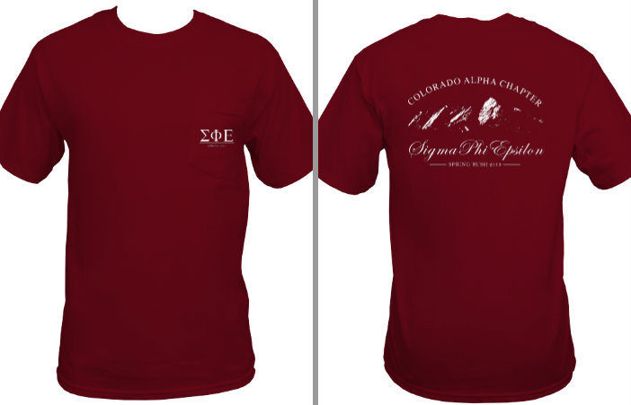 Fall Rush shirt, 2013