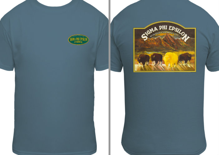 Fall Rush shirt, 2014